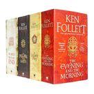 The Kingsbridge Novels 4 Books Collection Set by Ken Follett PB