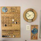 Classroom Calendar - Maple Wood