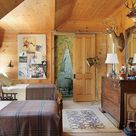 Rustic Kids Rooms