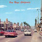vintage van nuys & victory blvd san fernando valley 1960's los angeles california