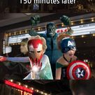 What Will Happen If Avengers And Frozen Casts Go To Watch The Movie Of Each Other's - Funny