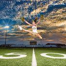 Cheerleader Senior Pictures