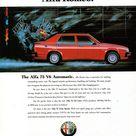 1988 Alfa Romeo 75 V6 Automatic 4 Door sedan Aussie Original Magazine Advertisment