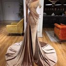 Mermaid Gown Evening Dress Sexy Long Prom Dresses