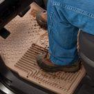 Husky Liners 94 01 Acura Integra/96 08 Subaru Impreza Heavy Duty Gray Front Floor Mats