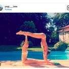 Partner Yoga Übung und Anleitung