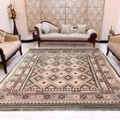 6x10 Afghan Kilim, Low price Rug, Boho Kilim, Large Flat Weave Kilim, Wool Kilim, Hand Woven Afghan Chobi Kilim, 290 cm x 194 cm, FREE SHIP