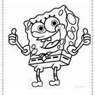 desenhos do bob esponja para colorir 88