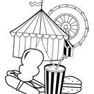 Ausmalbilder Kostenlos Zirkus 24