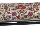 Antique Suzani Upholstered Bench