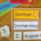 Kalender fürs Klassenzimmer   Frau Locke