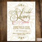 Gold Bridal Showers