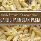 Easy Garlic Parmesan Pasta