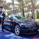 Alfa Romeo Giulia Quadrifoglio Verde dell'Arma dei Carabinieri