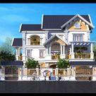 Mẫu Thiết Kế Nhà Biệt Thự, Lâu Đài - Dinh Thự tại Hà Nội - Kiến Sang