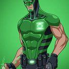 Green Lantern [Jessica Cruz] (Earth-27) commission by phil-cho on DeviantArt