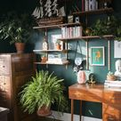 Before & After: Hunter Green Home Office » Jessica Brigham