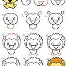 Tiere malen und zeichnen - Einfache Anleitungen für Kinder