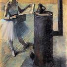 Edouard Manet Standing, c.1866 - c.1868 - Edgar Degas - WikiArt.org