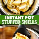 Instant Pot Stuffed Shells