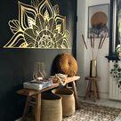 Sutra Gold Metal Wall Art by Hoagard