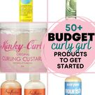 Budget Curly Girl Products For Beginners