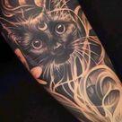tattoo ideas female black cat