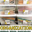School Counselor Organization Strategies