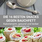 Snacks gegen Bauchfett: 16 leckere Snack-Ideen zum Abnehmen
