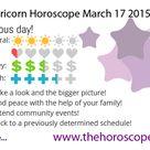 Capricorn Horoscope today March 17 2015