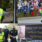 World War II veteran, cross-school guard, celebrates 100th birthday - Ohio News Time