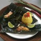Indonesian Chicken with Spices in Banana Leaf   Official Thermomix Recipe Community