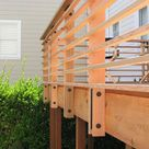 17+ Creative Deck Railing Ideas for Your Beautiful Porch..,  #Beautiful #Creative #Deck #DECK...