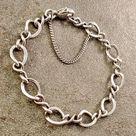 James Avery Medium Figaro Twist Charm Bracelet