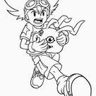 Digimon Tegninger til Farvelægning 31