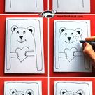 How to draw Valentines
