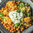 Gemüse-Masala-Bowl mit Spinat-Hirse Rezept | HelloFresh