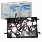 eBay TYC Dual Radiator & Condenser Fan Assembly for 2008 2016 Buick Enclave Belts nv