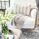 New Slipcovers for the IKEA Living Room Furniture - Bless'er House
