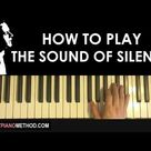 HOW TO PLAY - Simon and Garfunkel - The Sound Of Silence (Piano Tutorial Lesson)