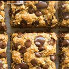 5 Ingredient Oatmeal Cookie Bars (Vegan, Gluten Free!)