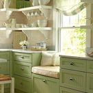 160 neue Küchenideen: Blaue und grüne Farbe - ArchZine