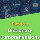 Python Dictionary Comprehension