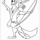 Robin Hood Coloring Page - Coloring Home Pages