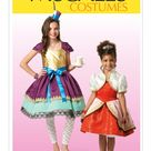 Children's/Girls' Character Costumes McCall's Sewing Pattern M7036