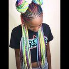 19 Box Braids With Bun Hairstyles   Inspired Beauty