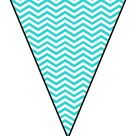 Polka-Dot & Chevron Pennant Welcome Banner FREEBIE