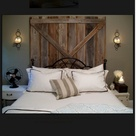 Barn Door Headboards