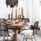 35+ Modern Bohemian Dining Room Ideas
