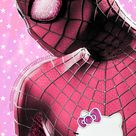 Superheroes Get a Hello Kitty Makeover, and the Results Are Amazing